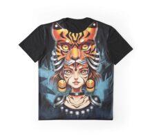 Lady Tiger Graphic T-Shirt