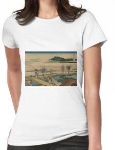 Soshu nakahara - Hokusai Katsushika - 1890 Womens Fitted T-Shirt