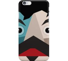 Face abstraction iPhone Case/Skin
