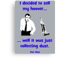 Tim Vine -  Hoover Canvas Print