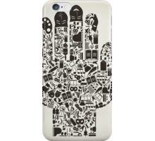 Hand art iPhone Case/Skin