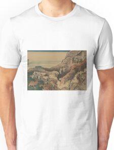 Shojin tozan - Hokusai Katsushika -1890 Unisex T-Shirt