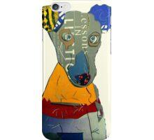 kacy the greyhound iPhone Case/Skin