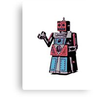 Vintage Toy Robot Canvas Print