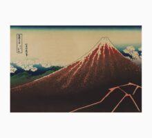 Sanka haku - Hokusai Katsushika - 1890 Kids Tee