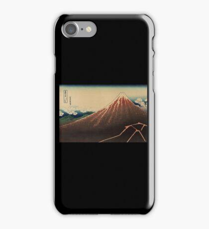 Sanka haku - Hokusai Katsushika - 1890 iPhone Case/Skin