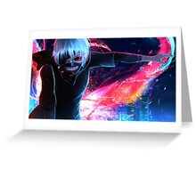 Kaneki Ken's ready to Fight - Tokyo Ghoul Greeting Card