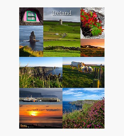 Cliffs of Moher poster Photographic Print