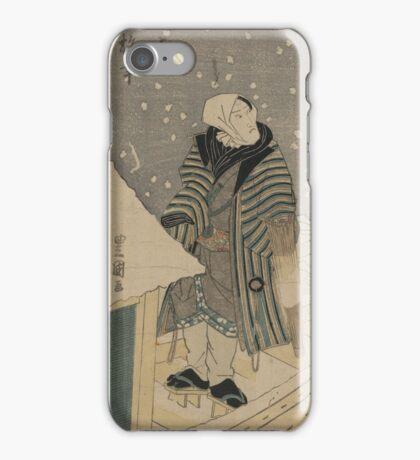 Onoe Baiko - Toyokuni Utagawa - 1825 iPhone Case/Skin