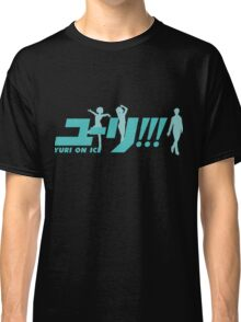 Yuri!!! On Ice (Logo and Trio) Classic T-Shirt