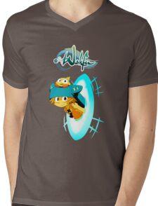 Wakfu Raider Mens V-Neck T-Shirt