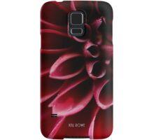 The red dahlia (original version) Samsung Galaxy Case/Skin
