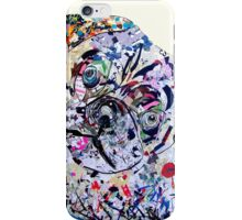 pug modern iPhone Case/Skin