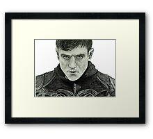 Iwan Rheon Framed Print