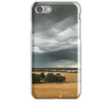 Stormy Sky Over Sawtry iPhone Case/Skin
