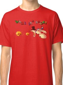 Earthworm Jim - What the Heck? Classic T-Shirt