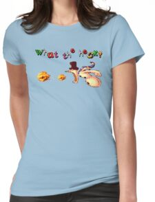 Earthworm Jim - What the Heck? Womens Fitted T-Shirt