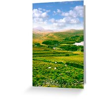 old Dunlewy church in beautiful Donegal  Greeting Card