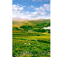 old Dunlewy church in beautiful Donegal  Photographic Print