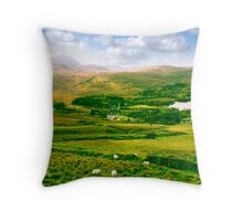 old Dunlewy church in beautiful Donegal  Throw Pillow