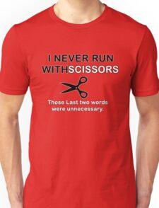 Run Scissors Unisex T-Shirt