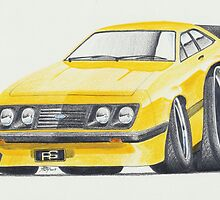 Escort RS2000 Mk2 By Glens Graphix by GlensGraphix