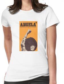 Angela Davis - Portait Of A Revolutionary Womens Fitted T-Shirt