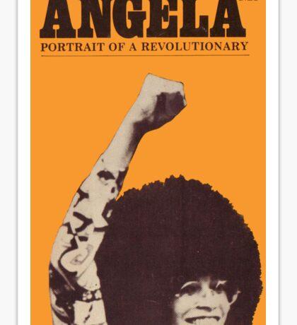 Angela Davis - Portait Of A Revolutionary Sticker