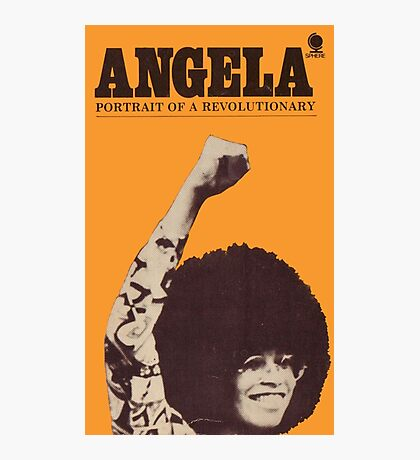 Angela Davis - Portait Of A Revolutionary Photographic Print