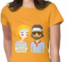 Margot& Richie- The Royal Tenenbaums  Womens Fitted T-Shirt