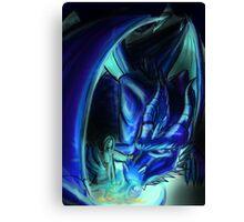 Dusk Dragon - EjPROJECT Canvas Print