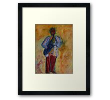 Jazz (from original oil painting) Framed Print
