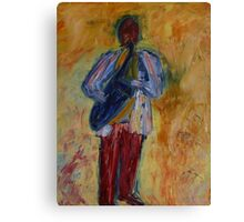 Jazz (from original oil painting) Canvas Print