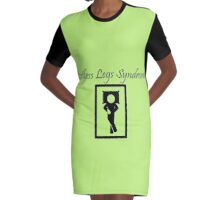 Restless Legs Syndrome Graphic T-Shirt Dress