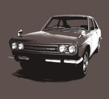 Datsun Bluebird 1800 SSS Coupe 510 1971 by DatsunStyle