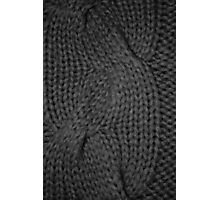 cable knit   texture Photographic Print