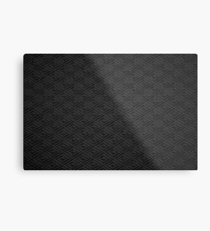 Dark knit | texture Metal Print