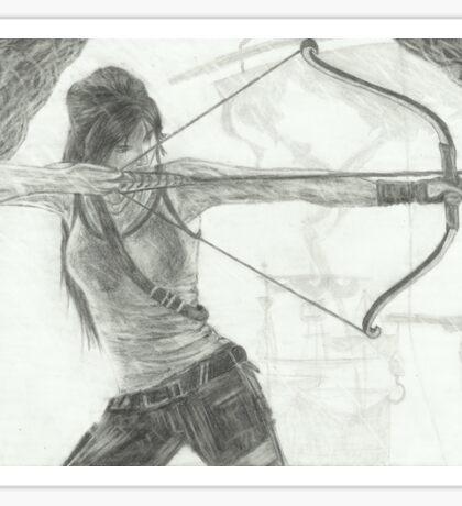 Tomb Raider v1 Sticker