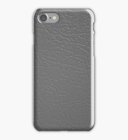 frey leather | texture iPhone Case/Skin