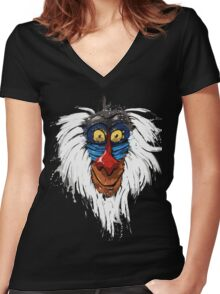 Rafiki Women's Fitted V-Neck T-Shirt