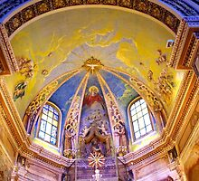 Caselvecchio Church Interior  by Francis Drake