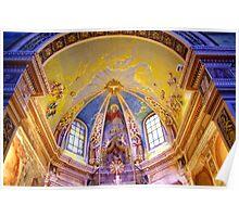 Caselvecchio Church Interior  Poster