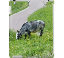 cows in the meadow iPad Case/Skin