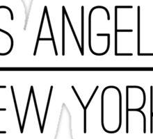 NY.LA Sticker