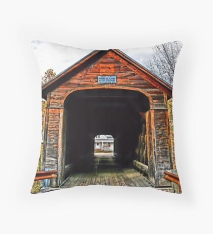 A Horses Walk Throw Pillow