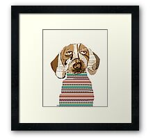 dasher  Framed Print