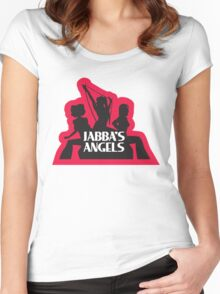 Jabba's Angels Women's Fitted Scoop T-Shirt