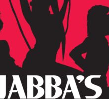 Jabba's Angels Sticker