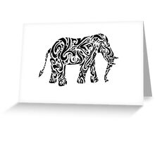 Elephant tattoo | globetrotter Greeting Card