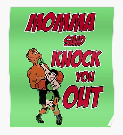 Knock Out Poster